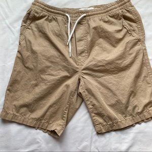 H&M Logg khaki cargo shorts